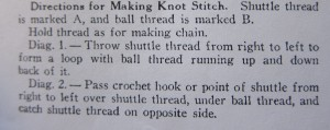Knot Directions 1